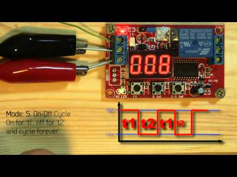 Dealextreme review: Produino Digital Mobilize/Cycle Time Delay Relay Module