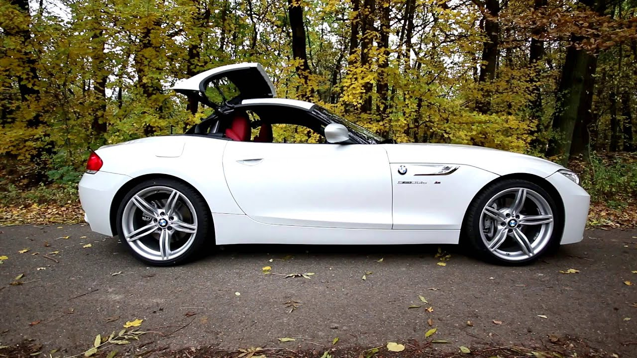 Bmw Z4 Sdrive35is 2015 Convertible Roof Operation Autoweb Cz Youtube