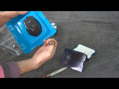 Unboxing And Test Of Aula Killing The Soul Expert Gaming Mouse In 3D