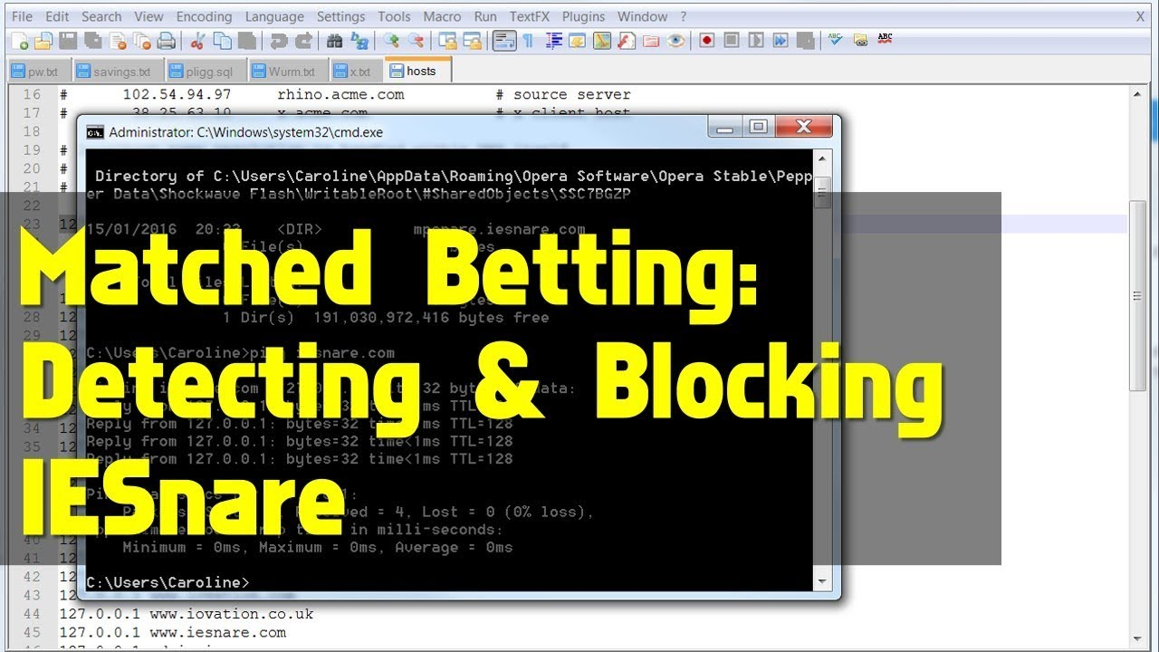 Iesnare matched betting save the student bettingen basel