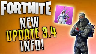"Fortnite Update 3.4 Nouvelles ""Fortnite Easter Update"" Fortnite Twitch Prime Pickaxe et New Twitch Skins"