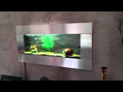 aquarium mural youtube. Black Bedroom Furniture Sets. Home Design Ideas