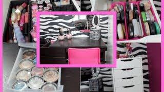 ♡ Makeup Collection + Storage! ♡ Thumbnail