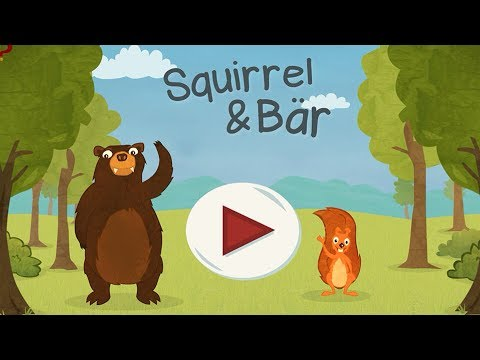 Squirrel & Bär - Kinderspiel App zum Englisch lernen | Beste Kinder Apps from YouTube · Duration:  8 minutes 54 seconds