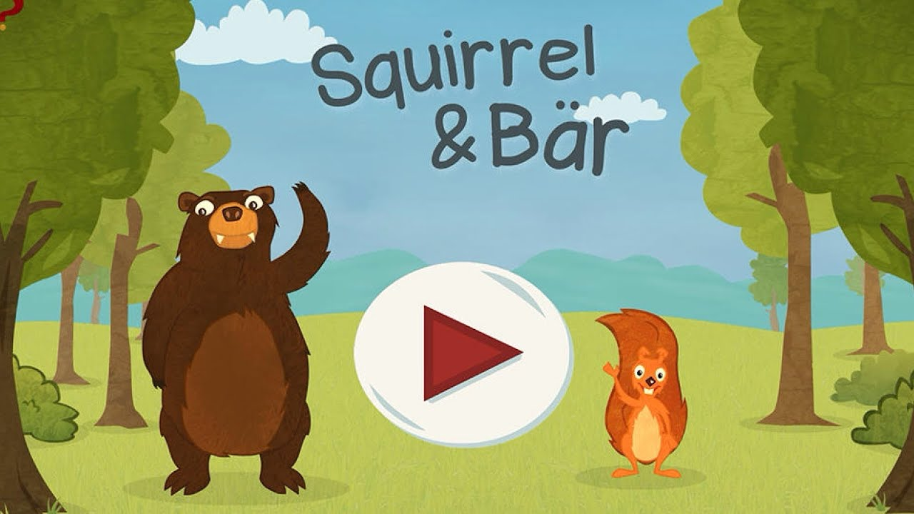 squirrel b r kinderspiel app zum englisch lernen. Black Bedroom Furniture Sets. Home Design Ideas