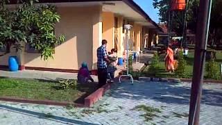 Bersepeda di Rumah Sakit Dustira Cimahi