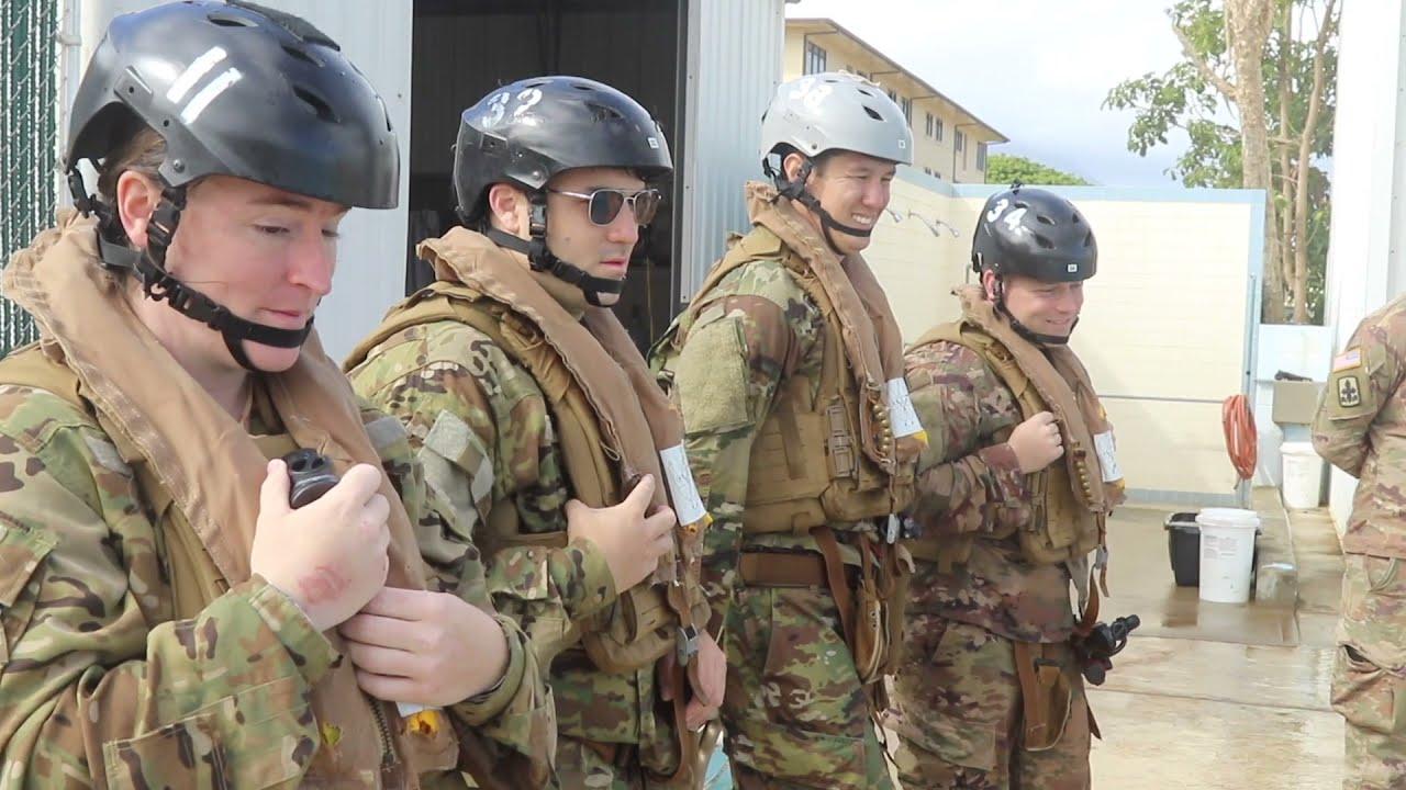 Hawaii Army National Guard Dunker Training • Marine Corps Base Hawaii