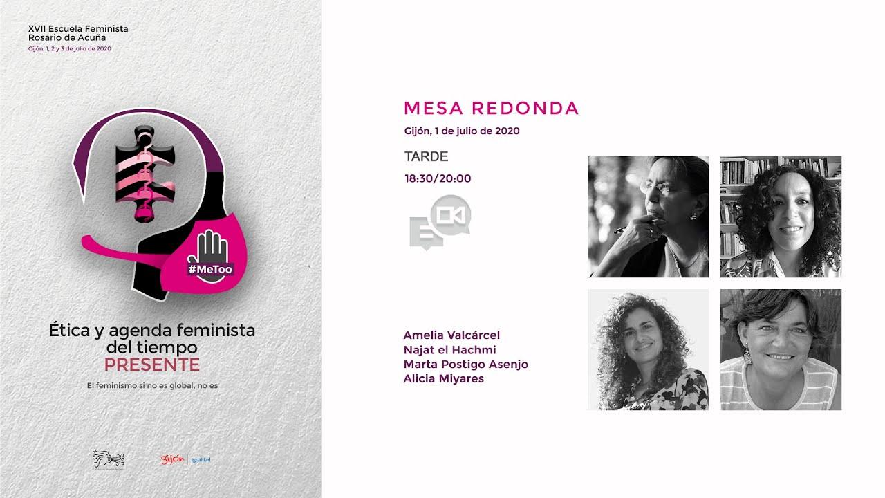 Mesa redonda con Amelia Valcárcel, Najat el Hachmi, Marta Postigo Asenjo y Alicia Miyares