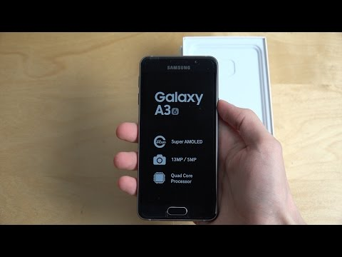 Samsung Galaxy A3 (2016) - Unboxing