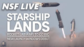 NSF Live: Recap of Starship SN10's flight test, Rocket Lab announces Neutron rocket, and more