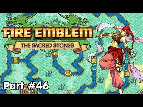 Slim Plays Fire Emblem: Sacred Stones - #46. Mopping up the Marsh