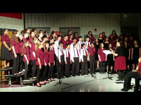 Marlboro Memorial Middle School Chorus 2017 Winter Concert