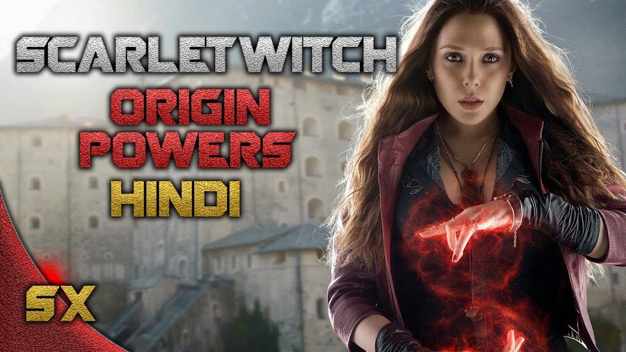 Scarlet witch Origin | Super Hero Origin Power & Abilities ...