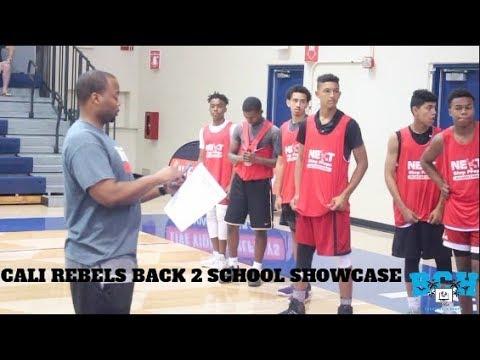 CALI REBELS BACK 2 SCHOOL SHOWCASE (Pt. II)   Game Highlights