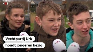 URK: Vechtpartij houdt jongeren bezig