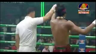 Lao Chetra Vs Yodpayak (Thai), Bayon Khmer boxing 11 November  2018