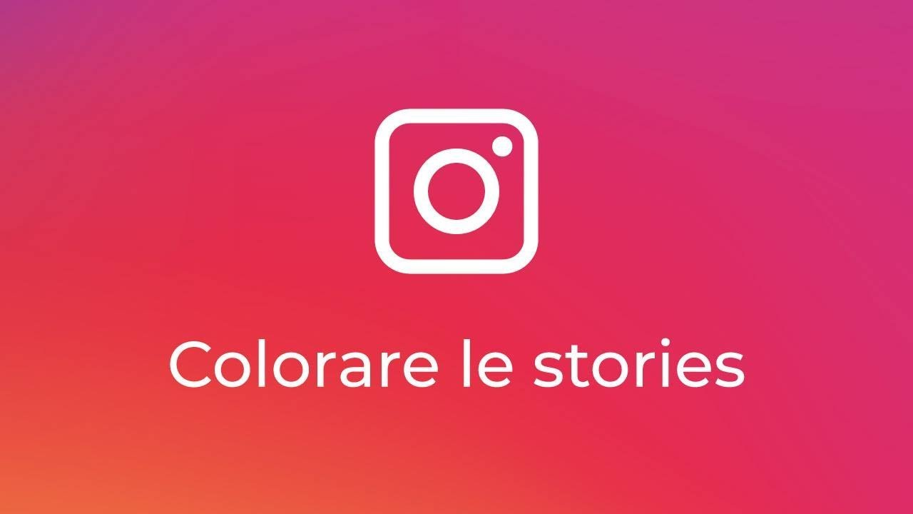 Colorare Le Stories