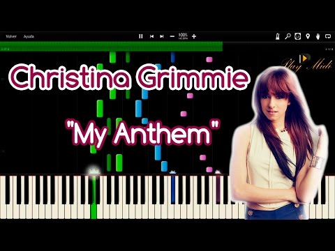"""christina-grimmie---""""my-anthem""""-synthesia"""