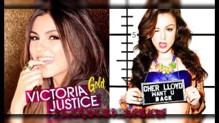 Cher Lloyd vs Victoria Justice - Want ur gold (Mashup)