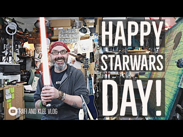Happy Starwars Day! May The Fourth Be With You! Watch An Old Video With Rafi And Klee