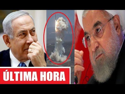 Inesperado Ataque De Irán Hoy A Israel Tras Su Rendición Que Hace Temer Una Vuelta A La Contienda.