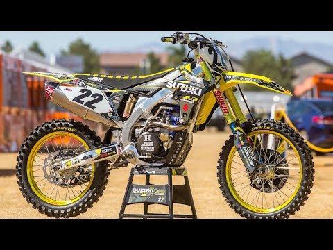 Inside Chad Reed's Factory JGR Suzuki RMZ450 - Motocross Action Magazine