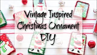 Vintage Inspired Christmas Orn…