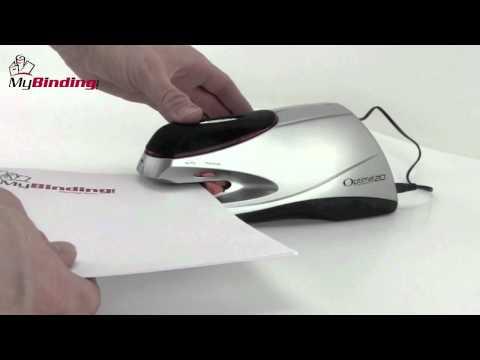 Swingline Optima 20 Electric Stapler Demo SWI 48208 YouTube