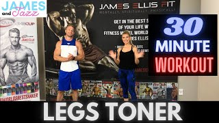 Resistance Bands Legs Toner Workout || High Intensity Interval Training || Fat Burning and Toning