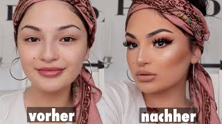 NUDE GLAM MAKE-UP TUTORIAL | Dilara Duman
