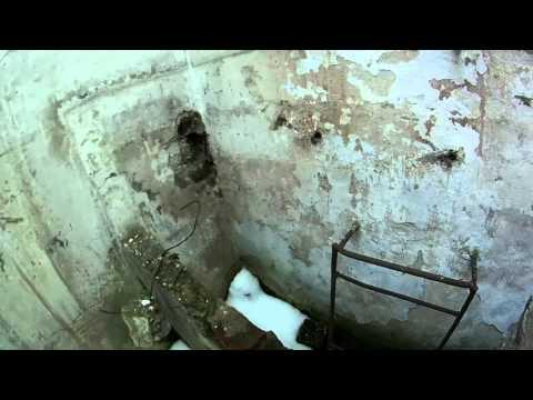 Заброшенные военные объекты. Бункер около г. Бронницы.