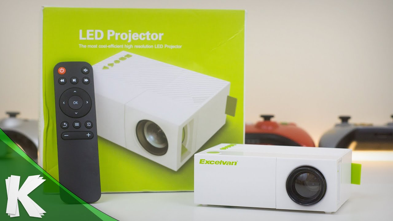 Excelvan yg 310 mini projector unboxing review youtube for High resolution mini projector