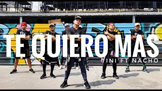 TE QUIERO MAS by Tini ft Nacho | Zumba | Latin Pop | Kramer Pastrana