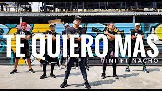 Download TE QUIERO MAS by Tini ft Nacho | Zumba | Latin Pop | Kramer Pastrana Mp3 and Videos