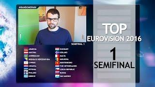 Top Eurovision 2016 - Semifinal 1| El juego de Eurovision