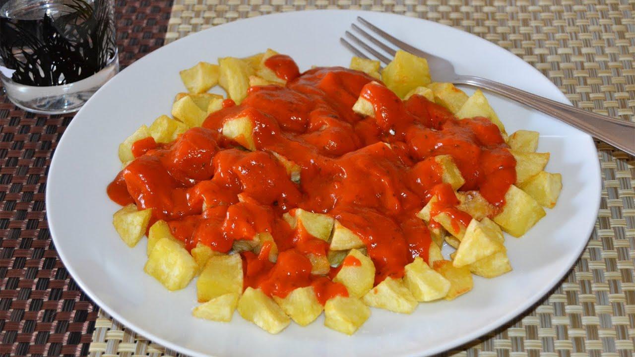Patatas bravas recetas de aperitivos y tapas youtube for Platos para aperitivos