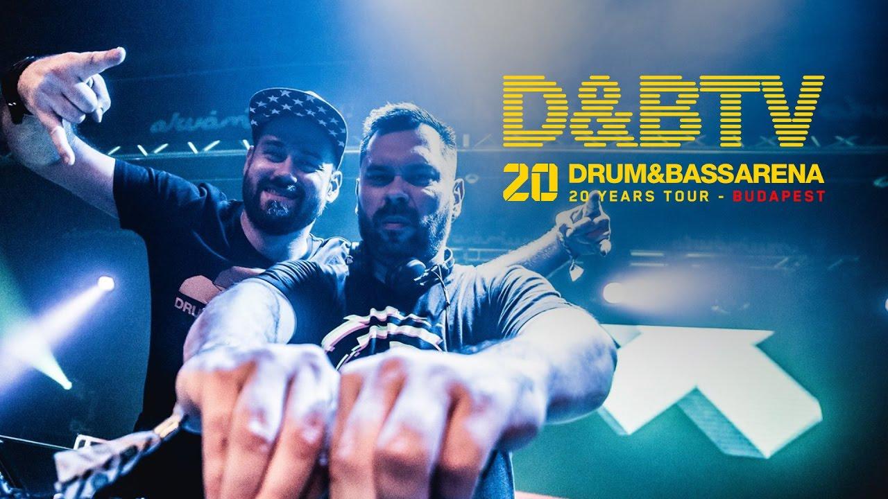Drum&BassArena 20 Years Tour Budapest - Jade b2b Mindscape