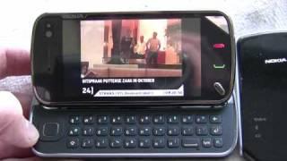 Nokia N97 and Nokia Mobile TV Receiver SU-33W demonstration