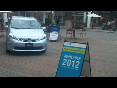 Prius V and Plug-in Hybrid preview with Roger Carr from Toyota and Scion of Kirkland