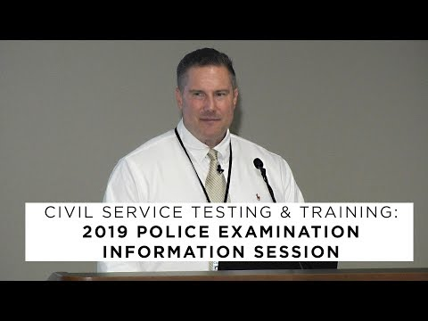 Columbus Police Officer Exam Information Session