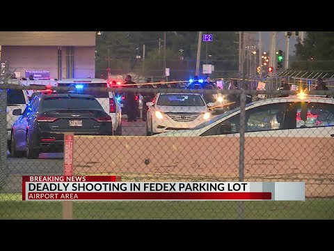 One dead, two detained after shooting on FedEx parking lot in Memphis