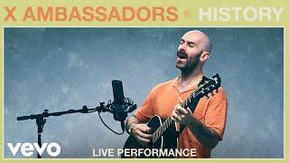 "X Ambassadors - ""History"" Live Performance | Vevo"