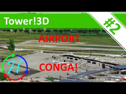 Come and Join the Conga! - Philadelphia International Airport - Ep.2 - Tower!3D