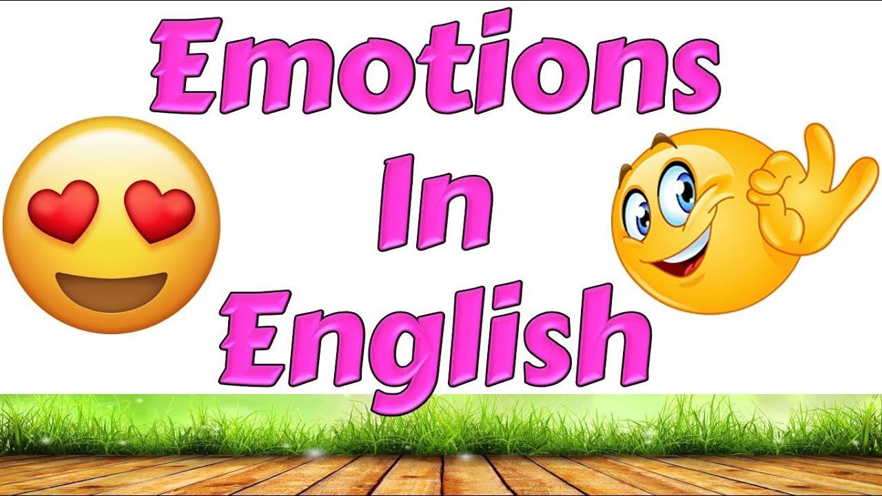 Ingilizce Duygular Emotions In English Cocuklar Icin Ingilizce