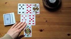 Skat Kartenlegen mit Claire: Beispiellegung Liebe