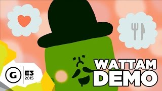 "Katamari Damacy Creator Demos New Game ""Wattam"" - E3 2015"