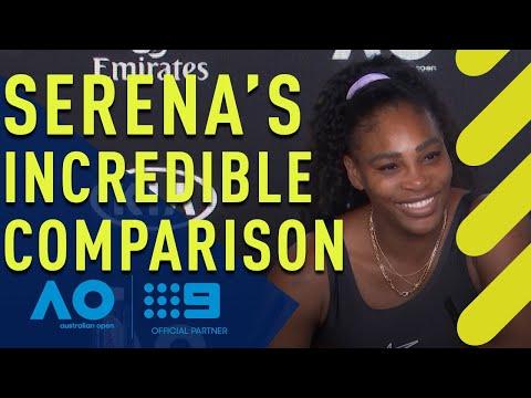 Serena Williams' incredible praise for Coco Gauff - Australian Open | Wide World of Sports