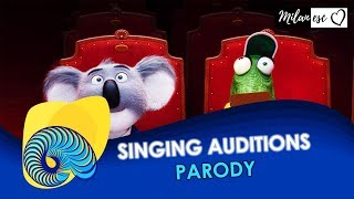 Eurovision 2018 - Singing auditions (PARODY)