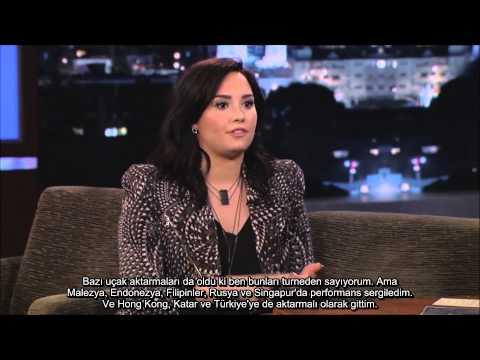 Demi Lovato JKL'da Türkiye'den Bahsediyor (Türkçe Altyazılı)