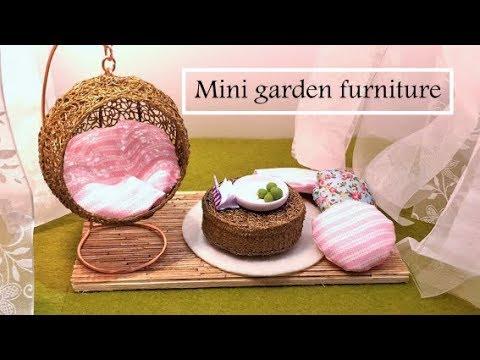 miniature garden furniture swing chair 3d pen